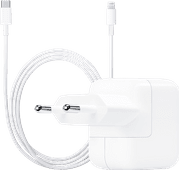 Apple USB-C Charger 30W + Apple LIghtning to USB-C Cable 1 Meter