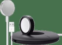 Apple Watch Magnetische Oplaadkabel usb A (1m) + Belkin Travel Stand
