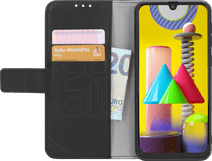 Just in Case Wallet Samsung Galaxy M31 Book Case Zwart