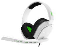Astro A10 Gaming Headset for PC, PS5, PS4, Xbox Series X/S, Xbox One - White/Green