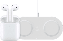 Apple AirPods 2 with Wireless Charging Case + Wireless Charger