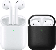 Apple AirPods 2 with Wireless Charging Case + Cover
