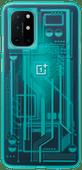 OnePlus 8T Quantum Back Cover Blauw