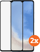 Azuri Tempered Glass OnePlus 7T Screenprotector Duo Pack