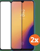 Azuri Tempered Glass Samsung Galaxy A70 Screenprotector Duo Pack