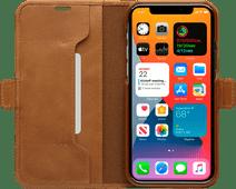 DBramante1928 Copenhagen Slim Apple iPhone 12 Pro Max Book Case Leer Bruin