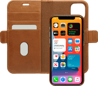 DBramante1928 Lynge Apple iPhone 12 / 12 Pro Book Case Leer Bruin