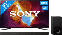 Sony KD-85XH9505 + Soundbar