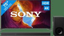 Sony KD-75XH9505 + Soundbar