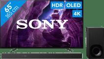 Sony KD-65A8 + Soundbar