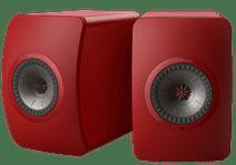 KEF LS50 Wireless II Red (per pair)