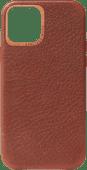 Decoded Apple iPhone 12 mini Back Cover Leer Bruin