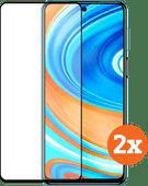 Azuri Tempered Glass Xiaomi Redmi Note 9 Pro Screenprotector Duo Pack