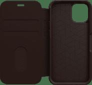 Otterbox Strada Apple iPhone 12 mini Book Case Leer Bruin