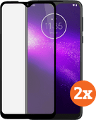 Azuri Tempered Glass Motorola One Macro Screenprotector Duo