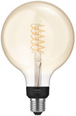 Philips Hue Filament Light White Globe G125/E27 Bluetooth