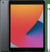 Apple iPad (2020) 10.2 inch 128 GB Wifi Space Gray + Pencil