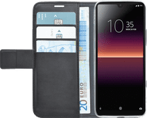 Azuri Wallet Magneet Sony Xperia L4 Book Case Zwart