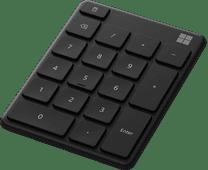 Microsoft Draadloos Numeriek Toetsenbord Zwart