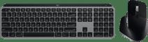 Logitech MX Master 3 Draadloze Muis + Logitech MX Keys Draadloos Toetsenbord voor Mac