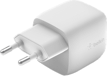 Belkin Boost Charge Oplader zonder Kabel Usb C GaN 30W Power Delivery