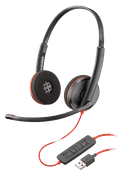 Poly Blackwire C3220 USB-A Office Headset