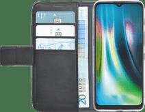 Azuri Wallet Motorola Moto G9 Play / E7 Plus Book Case Zwart Motorola hoesjes