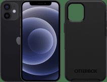 Apple iPhone 12 Mini 128GB Black + OtterBox Symmetry Back Cover Black
