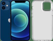 Apple iPhone 12 Mini 64GB Blue + Tech21 Evo Clear Back Cover Transparent