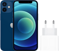 Apple iPhone 12 mini 128GB Blauw + Apple Usb C Oplader 20W