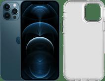 Apple iPhone 12 Pro Max 256GB Blauw + Tech21 Evo Clear Back