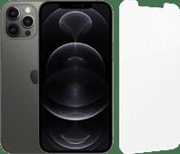 Apple iPhone 12 Pro Max 128GB Graphite + InvisibleShield Glass Elite Screen Protector