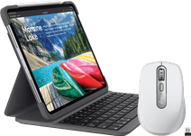 Logitech Apple iPad Pro 12.9 inch (2018) Toetsenbord Hoes + Muis
