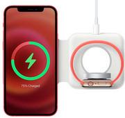 Apple Dubbele Draadloze MagSafe Oplader 15W Draadloze oplader voor Apple Watch