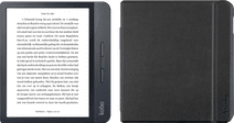 Kobo Libra H2O Zwart + Gecko Covers Sleep Cover Zwart