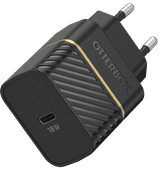 OtterBox Oplader Zonder Kabel Usb C 18W Power Delivery Zwart