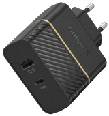 OtterBox Charger without Cable 2 USB Ports 18W Power Delivery Black