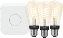 Philips Hue Filament Light White Edison E27 Bluetooth Starter 3-pack