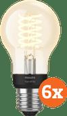 Philips Hue Filamentlamp White Standaard E27 Bluetooth 6-Pack