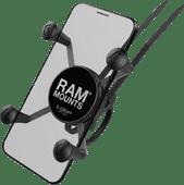 RAM Mounts Universele Telefoonhouder Fiets EZ-ON/OFF Stuur Groot