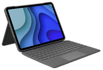 Logitech Folio Touch Apple iPad Pro 11 inch (2020)/(2018) Toetsenbord Hoes QWERTY Grijs