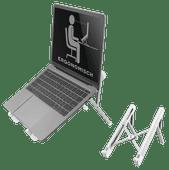 NewStar Opvouwbare Laptopstandaard NSLS010 Zilver