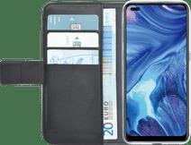 Azuri Wallet OPPO Reno4 Book Case Zwart