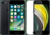 Refurbished iPhone 7 32GB Zwart + Azuri Rinox Case Friendly Screenprotector