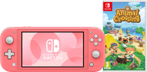 Nintendo Switch Lite Coral + Animal Crossing + Nintendo Switch Online (3 months)