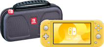 Nintendo Switch Lite Yellow + Bigben Official Nintendo Switch Lite Travel Case