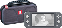 Nintendo Switch Lite Gray + Bigben Official Nintendo Switch Lite Travel Case