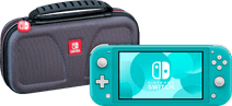 fiNintendo Switch Lite Turquoise + Bigben Official Nintendo Switch Lite Travel Case