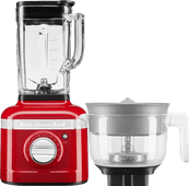 KitchenAid Artisan K400 5KSB4026EER Empire Red + Citrus Press Attachment