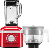 KitchenAid Artisan K400 5KSB4026ECA Apple Red + Citrus Press Attachment